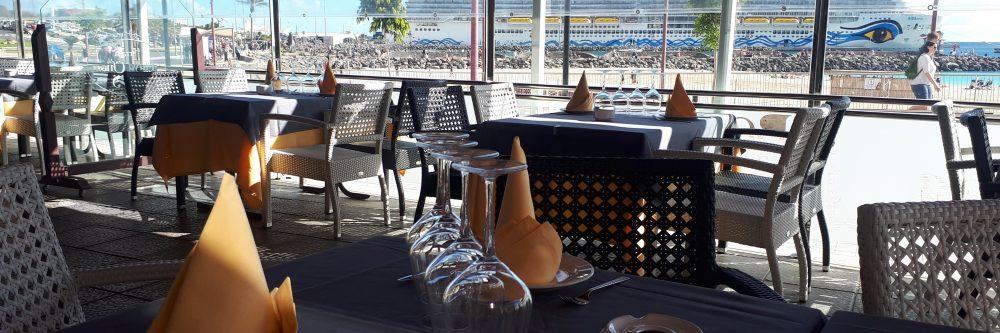 Restaurante La Terraza Playa Chica